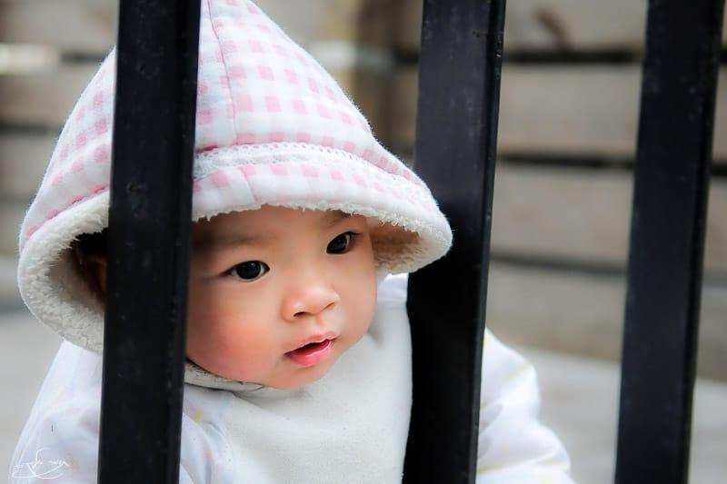 ילדה מתוקה שצילמתי בסין. צילום: תומר אלמקייס