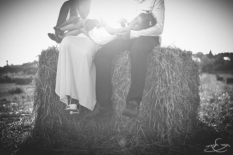 כשלזוג נוסף שאתה מצלם יש כבר ילדה. צילום: תומר אלמקייס