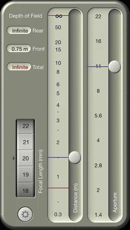 DOF Calculator