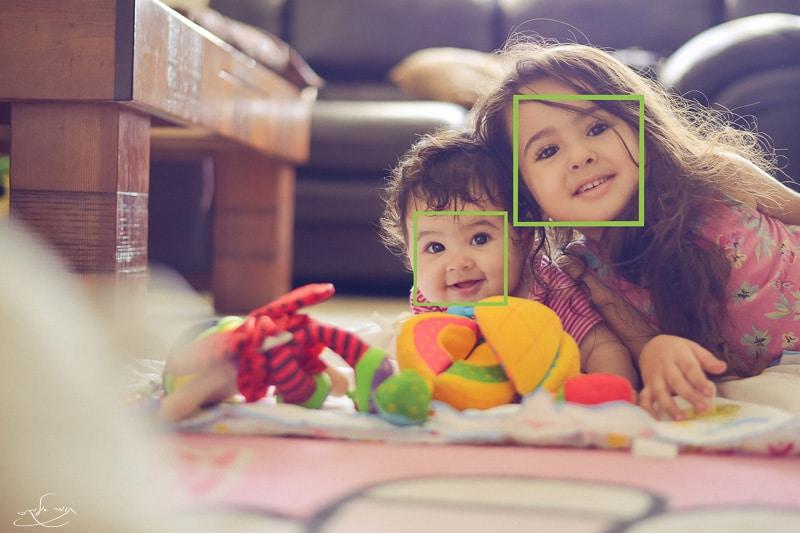 פוקוס במצלמה - מערכת אוטומטית לזיהוי פנים