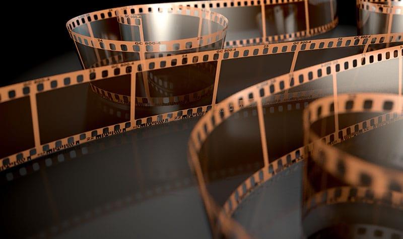 Film Strip Curled