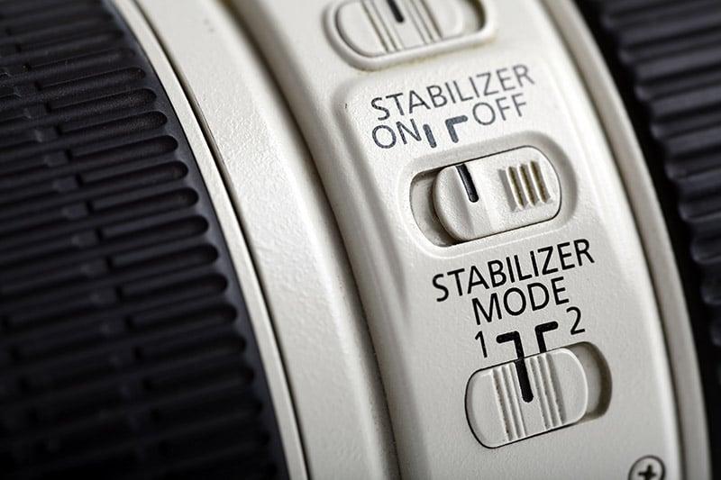 Photo lens stabilizer