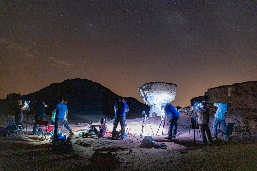 קורס צילום לילה וכוכבים. צילום: אופק עוגן